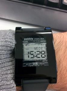Pebble amb pantalla malament